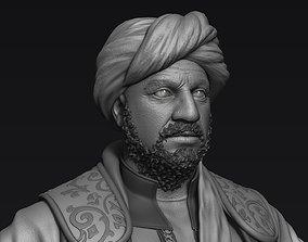 3D model man Arabian Character