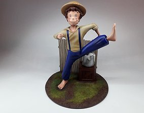 Tom Sawyer 30 cm 3D print model anime
