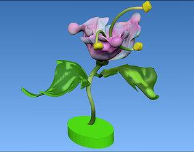 flower lotus 3D print model