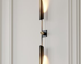 3D VOYAGER 17 DUAL SCONCE by Allied Maker
