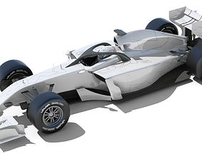 3D model Generic F1 2015-2016 Race Car