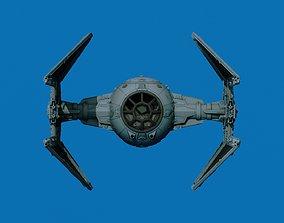 3D printable model Star Ware Return of the Jedi Tie 1