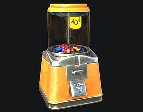 3D asset Gumball Machine PBR