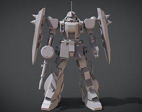 3D printable model Zaku Warrior variant