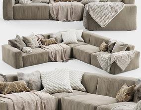 Elise Corner Sofa 2 3D