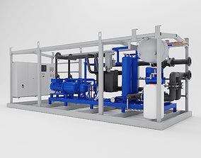 3D PBR Refrigeration unit NSTF 350 - 450