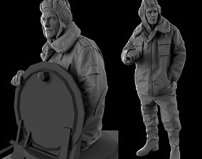 Tank Crew 35 120mm scale 3D printable model