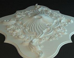 3D model Rosette decoration