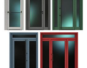 3D Metal fire doors