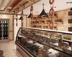 3D Gourmet Interior 001