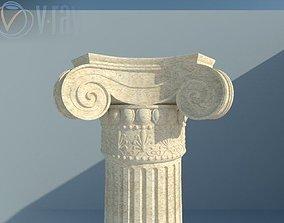 greek column 3D