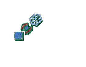 3D rigged EARING gem