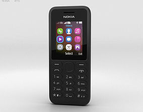 Nokia 130 Black 3D