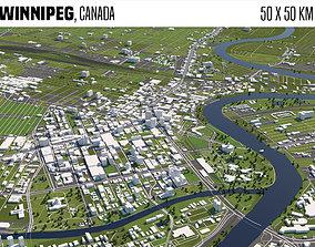 Winnipeg Canada 3D