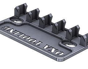 3D printable model Quick Change OXA Lathe Tool Holder