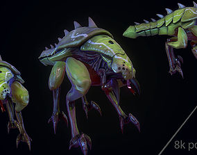 3D model Handpainted Mmorpg monster