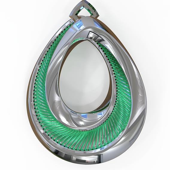 Jewellery Pendant 3D print model