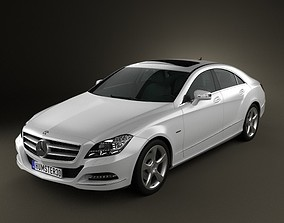 3D model Mercedes-Benz CLS-Class W218