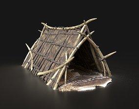 3D model Orcish Shelter Primal Tent Camp Hut House 2