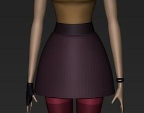 3D Challenge - Female Characters - Urban Autumn