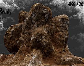 3D rock mountain 011
