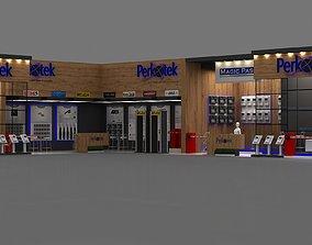 3D Pekotek Stall Size 133 square meters Height 500 cm