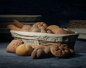 model 3D model Breadroll Basket