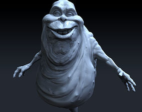 Ghostbusters Slimer high polygon 3D model