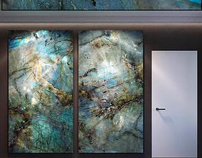 3D model Wall Panel Set 61
