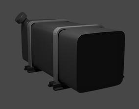 Diesel fuel tank 3D model
