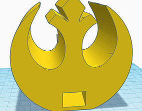 3D printable model Rebel Alliance Dice Tower - Star Wars