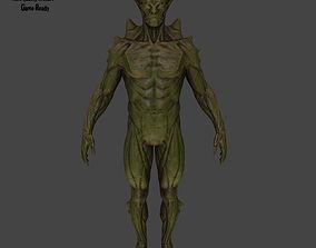 monster 3D model realtime