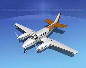 3D Beechcraft King Air C90 V15