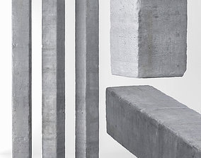 3D model Column concrete