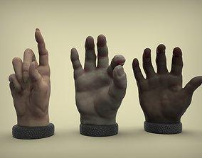 Sculpted hands 3D printable model