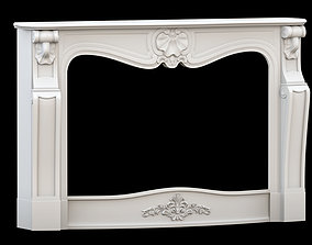 fire place 3D model victorian