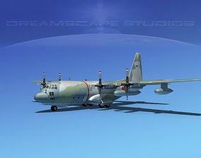 Lockheed C-130 Hercules Japanese 2 3D