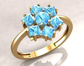 3D print model JRing1 diamonds