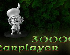 Starplayer leprechaun 3D printable model