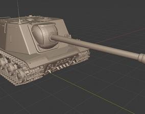 3D printable model ISU 122S USSR Tanks