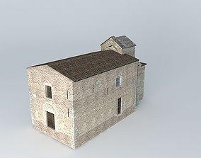 3D model Chapelle Saint Laurent