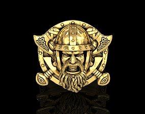 The Viking Warrior Ring 3D print model