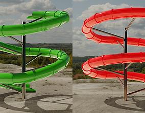 play Water Slide 3D models