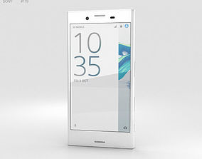 3D model Sony Xperia X Compact White