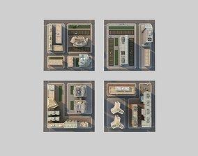 3D asset CityBlock
