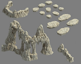 mound 3D Kunlun Mountains - Mountain 04