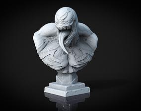 marvel 3D printable model Venom Bust