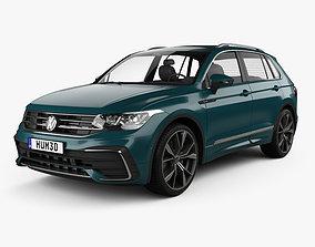 3D model Volkswagen Tiguan R-Line 2020 line