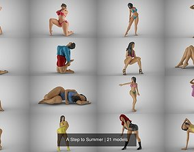 A Step to Summer 3D model