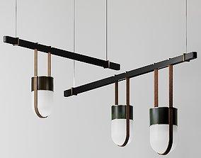 Xi Pendant Lamp Poltrona Frau lamp 3D model